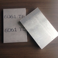 Aluminium sheet price per kg 6061 t6 making aluminum trailer decking