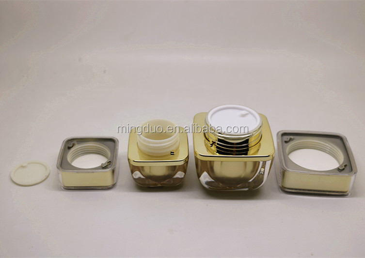 50-100ml Acrylic bottle and 20-50g cosmetic jar set