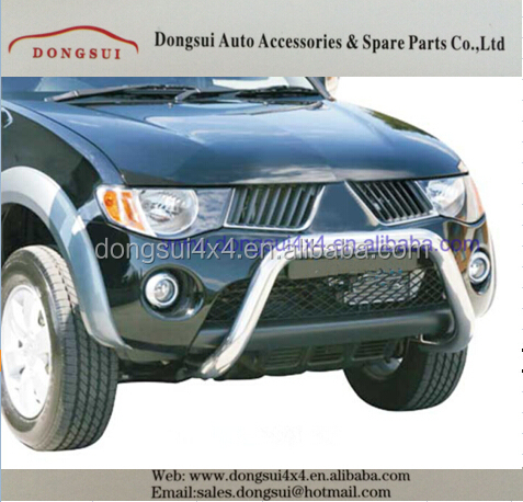 stainless steel front bumper guard, grille guard,car accessories for MITSUBISHI TRITON