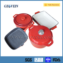 High Quality Enamelware Casserole cast iron cookware set