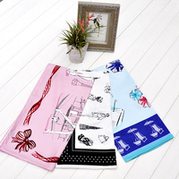 Wholesale Digital Print 90*90cm 100% Pure Silk Scarves On Sale