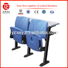 adjustable school school furniture desk and chair blue plastic wrap