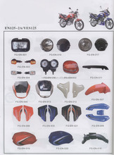 EN125 EN125-2A YES125 motorcycle parts/Brasil motorcycle spare parts/South America motorcycle parts
