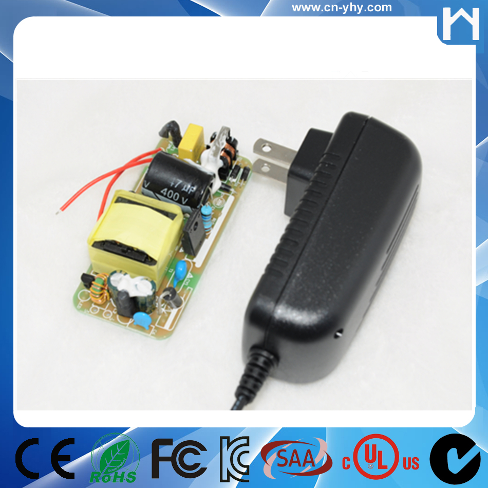 12V 2A power adapter 24W universal adapter for LCD LED cctv camera