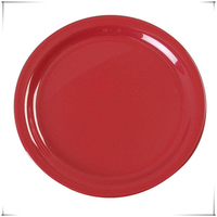 Colorful disposable plastic plate