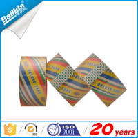 colored customized logo printed bailida brand names adhesive tapes