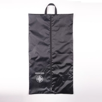 Useful polyester foldable suit garment bag with hanger customized can be accepted
