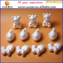 different kind shapes styrofoam animals