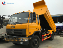 china clw cheap 6 wheeler 10 tons sealed dump garbage refuse collector rubbish truck for hot sale