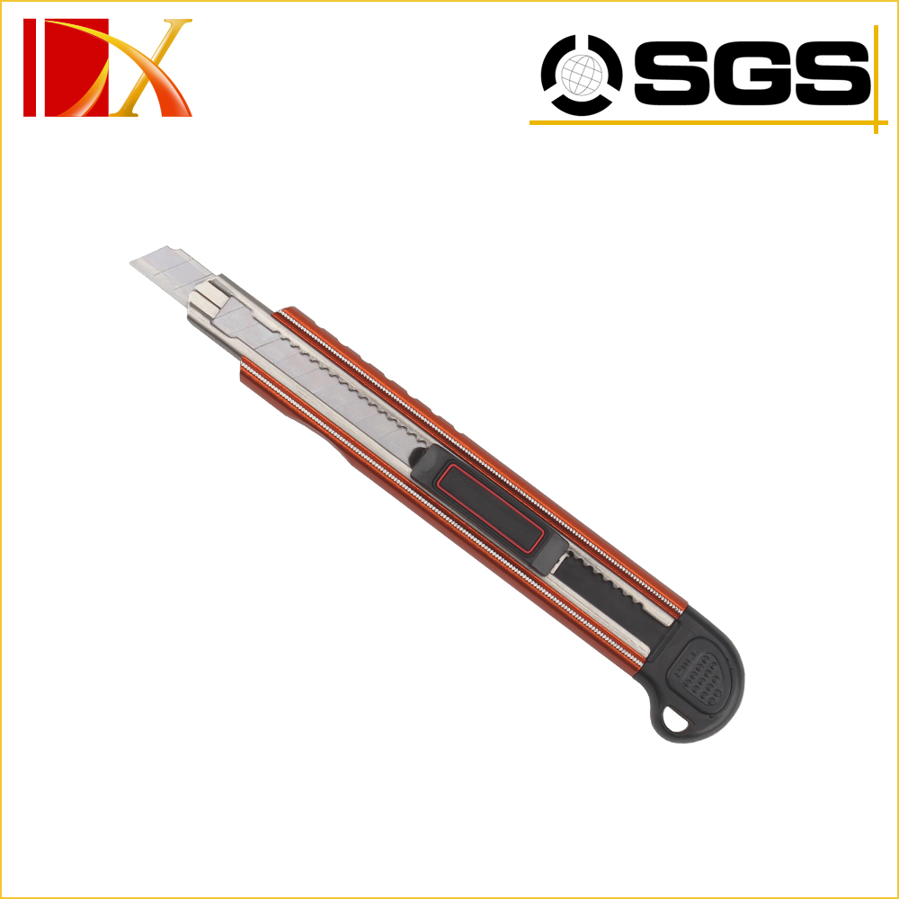 9mm sliding hand carpet knife with 5pcs blade