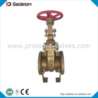 API Manual Operation Bronze Wedge Type Gate Valve