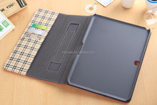 Factory Price PU Leather 10.1 Inch Tablet PC Tablet Case For Samsung Galaxy Tab 4 T530 with card holder
