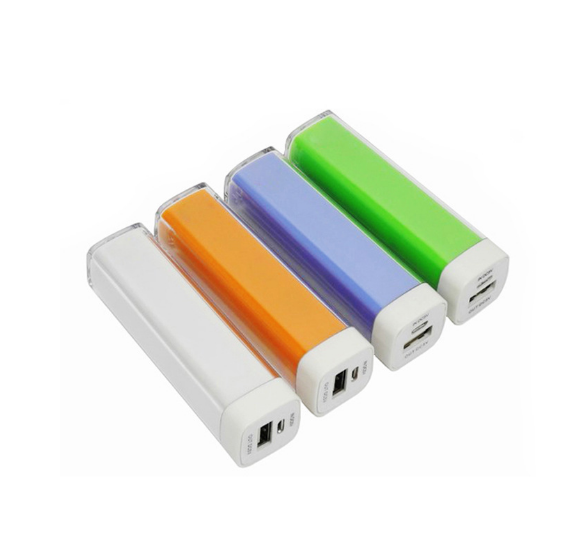 High quality 2600mah universal lipstick smart power bank, 2600mah portable power bank