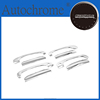 Factory price exterior accessories chrome door handle cover - for Hyundai Getz