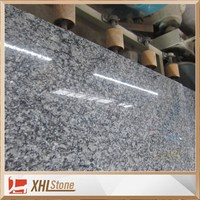 Spray White Granite Tiles , White Wave Granite Slabs