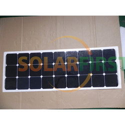 120W amorphous silicon portable flexible solar panel