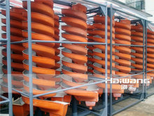 Small Alluvial Gold Mining Machine / Gold Miner Spiral Panning Equipment