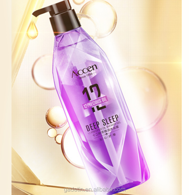 12 Precious Oil Fragrance Shower Gel Essential bath