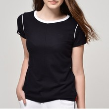 Women fashion leisure apparel clothing manufacturer overseas lady blouse & top