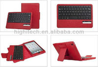 ABS Removable Wireless Bluetooth Keyboard Case for iPad Mini