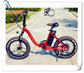 Factory direct sale bottle battery e-bike folding bicycle for woman