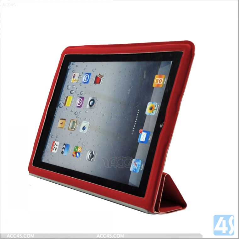 Fashion 2014 Kids Proof Leather Cover for iPad 2/3/4 P-iPAD234CASE097