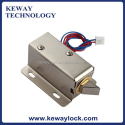 Mini Electronic Cabinet Lock Locked when Power Out 12V Electronic Lock for Locker