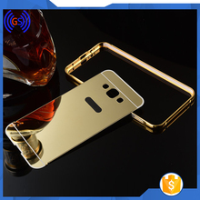 Best Selling Luxury Aluminum Bumper Mirror Cell Phone Case For samsung galaxy s7 edge