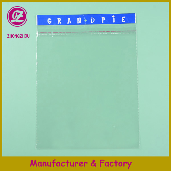 Clear and recycle OPP sterile aluminum plastic bag with self adhesive for food