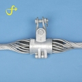 Adss cable storage fiber optic suspension wires ferrule clamps