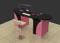 New style manicure table nail bar wholesale nail station