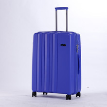 Spinner wheels aluminium frame luggage suitcase PP H-8002