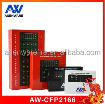 4 Zone Conventional Fire Alarm Control Panel Systems For Building