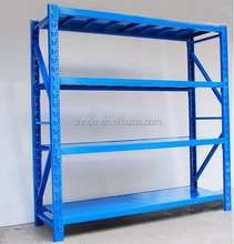 China easy to store & pick up metal medium duty shelving manufacturer,CE certificated Metal Material pharmacy longspan shelving