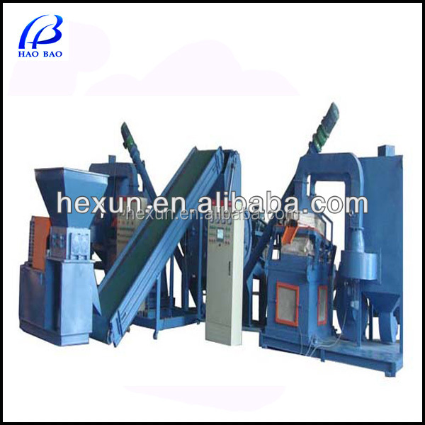 Hot sale TMJ-1200 scrap copper wire granulator Cable making equipment/scrap cable wire recycling machine for sale