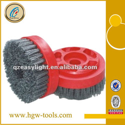 Circle Abrasive Brush for Marble, Granite, Concrete (beehive brush)