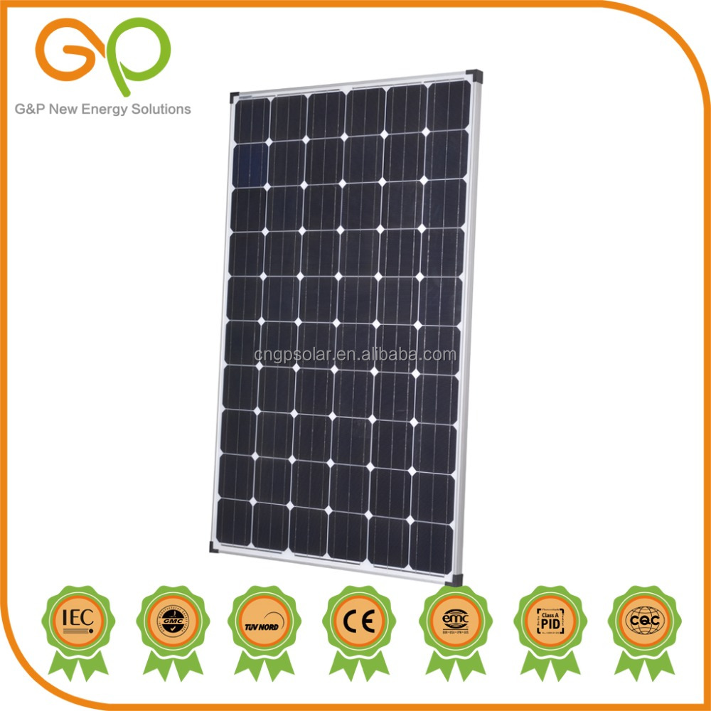 Best selling low price high efficiency monocrystalline solar panel