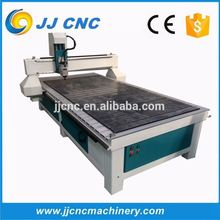 Higher speed T-slot table single arm cnc router