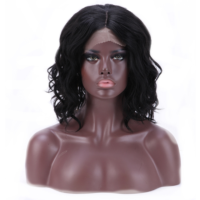 Body wave BOB style synthetic wigs 16