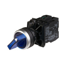 CJK22 blue color 2/3 position rotary illuminated light selector <strong>switch</strong>
