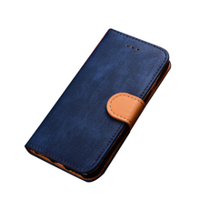 Wholsale Jean Pattern Wallet Stand Leather Flip Case for iphone 6