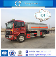 Foton aumen mini oil tanker truck or fuel tanker truck for sale