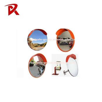 Traffic equipment indoor&outdoor acrylic side view convex mirror/ convex mirror