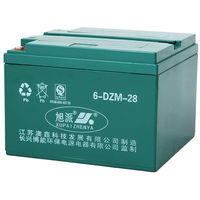 Environmental friendly 12V32AH lead acid batteries parts for chinese scooter