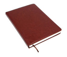 PU Leather Cover Thick Blank Paper Notebook