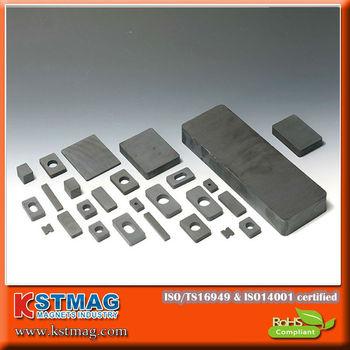 Large Ferrite Square Magnet For Magnetic Separator,Mining Machine ...
