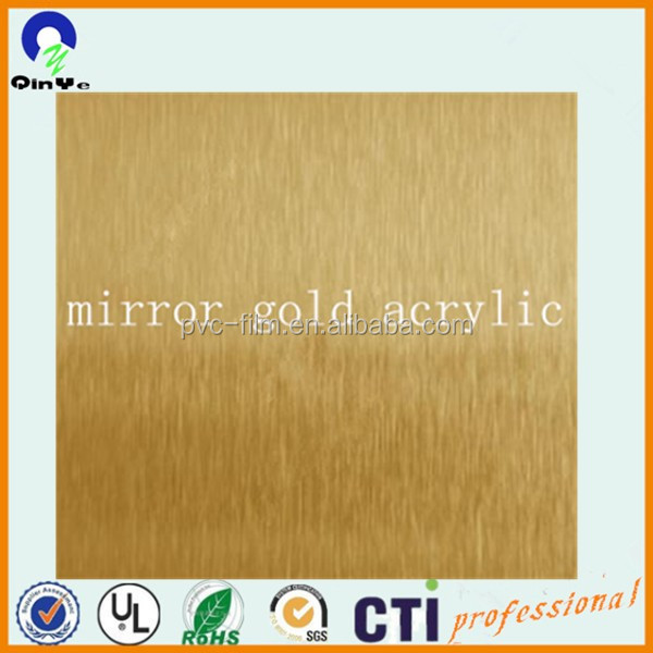 wholesale thick cheap price cast Clear crystal high density plexiglass/pmma/mirror silver mirror gold <strong>acrylic</strong>
