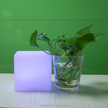 Cube Decoration Flashing Battery Powered Led Table Lamp