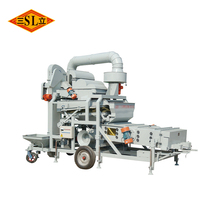 5XFZ-10BX high quality seed cleaner cum grader with gravity separator table