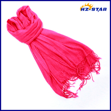HZW-13409004 Good Quality women Customed single color thin hijab flower clip